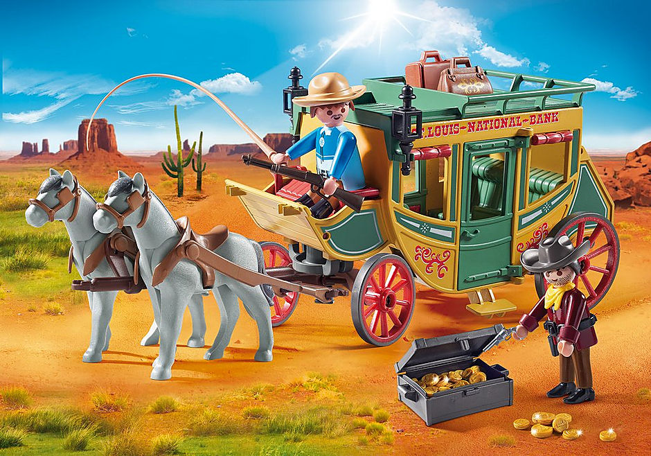 70013 Western Stagecoach detail image 1