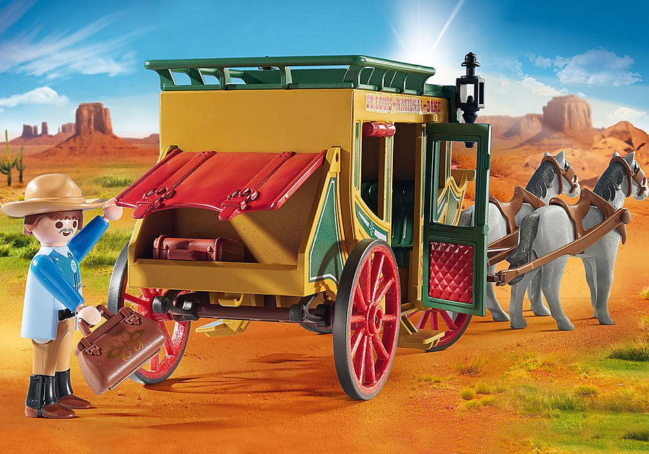 70013 Western Stagecoach detail image 4