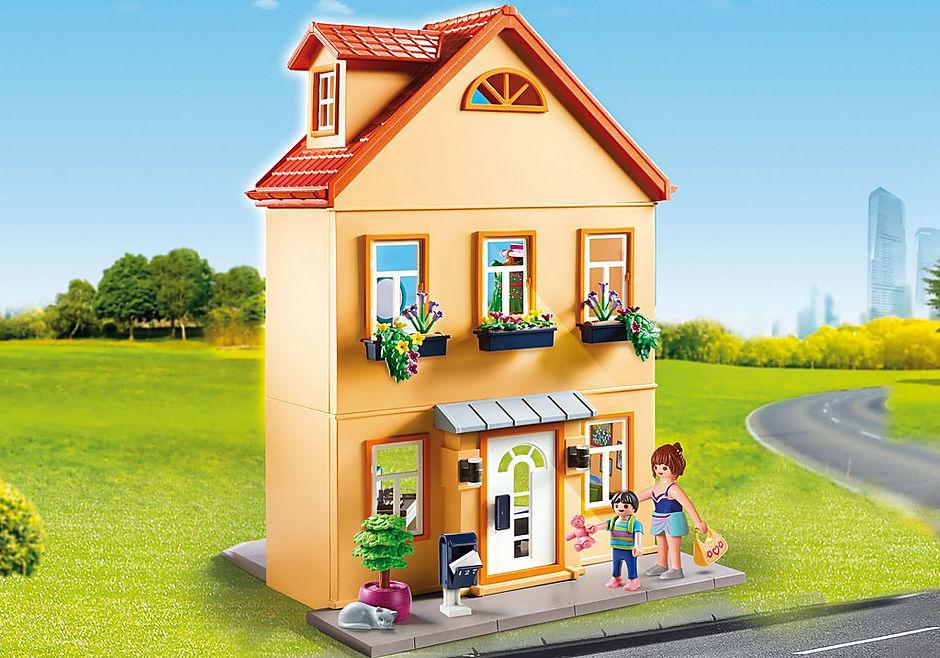 70014 Kisvárosi házikó detail image 1