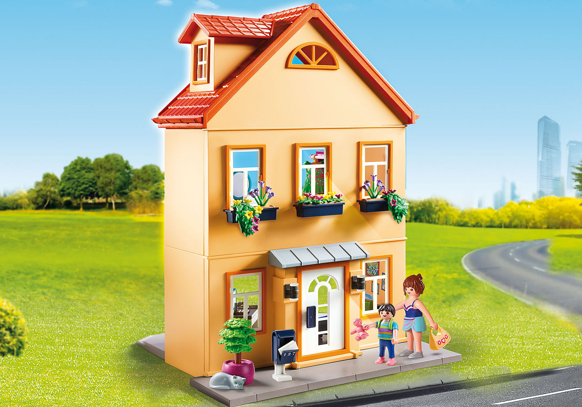 http://media.playmobil.com/i/playmobil/70014_product_detail/My Townhouse