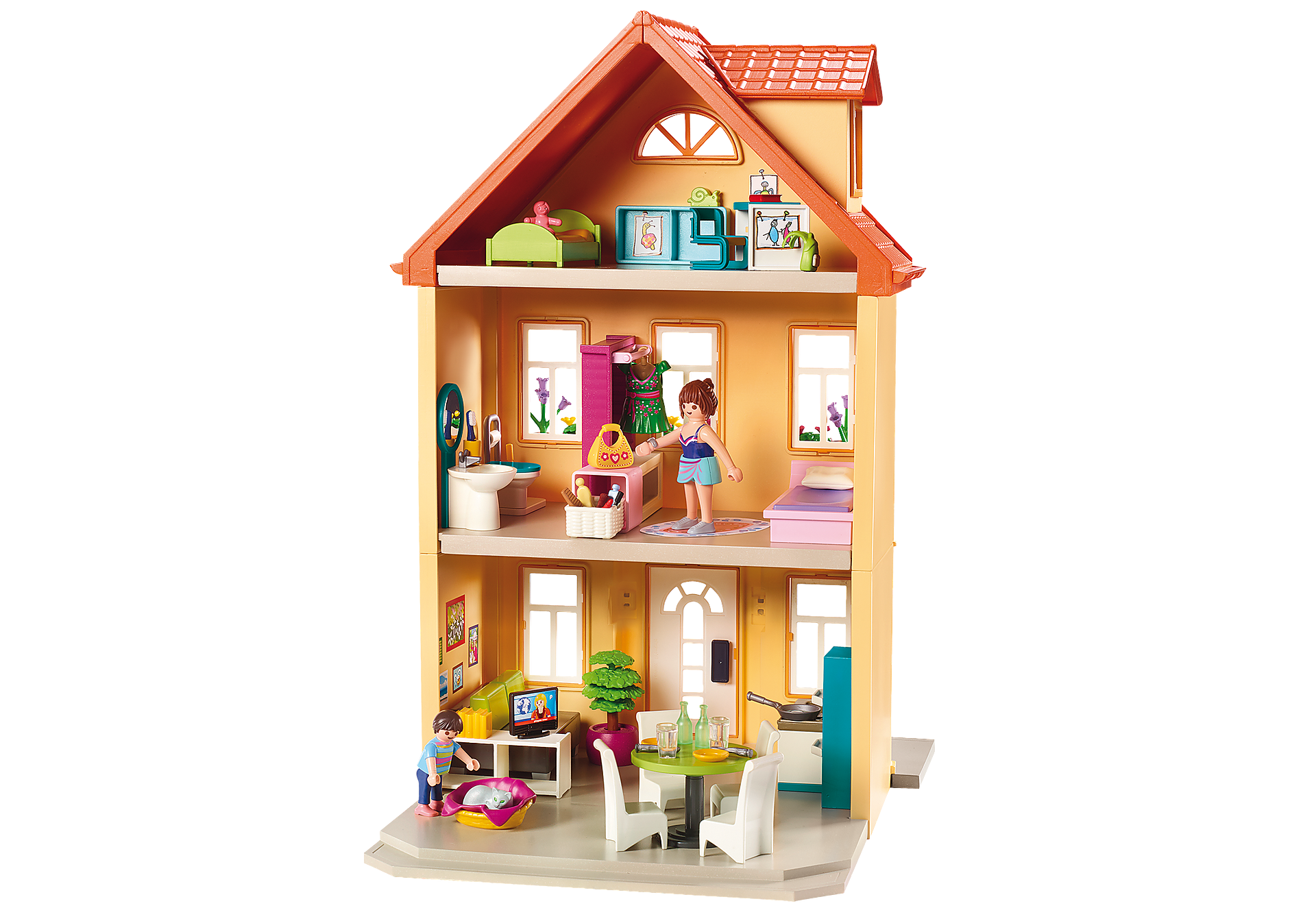 http://media.playmobil.com/i/playmobil/70014_product_extra3/Mit byhus