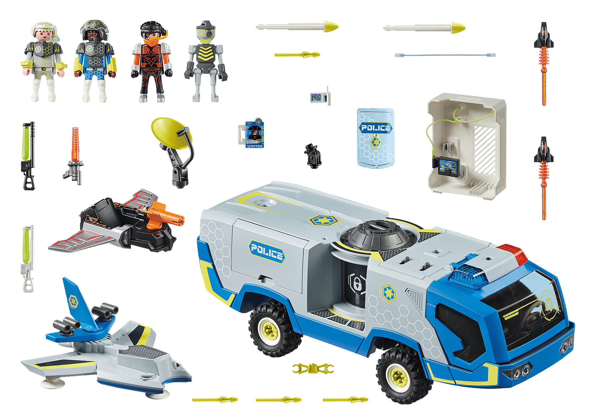 70018 Galaxy Police-Truck zoom image3