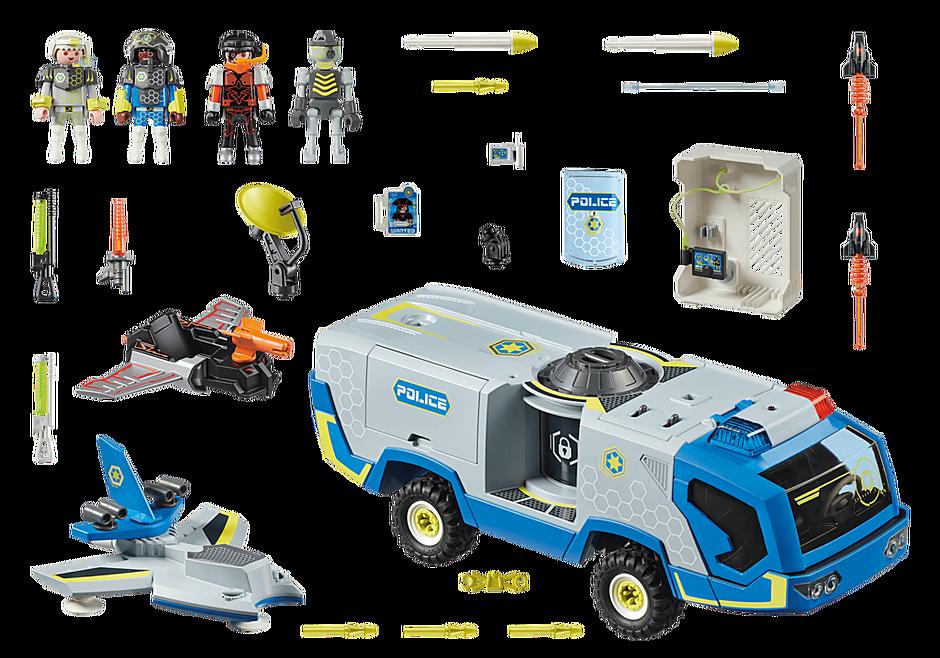 70018 Galaxy politietruck detail image 3