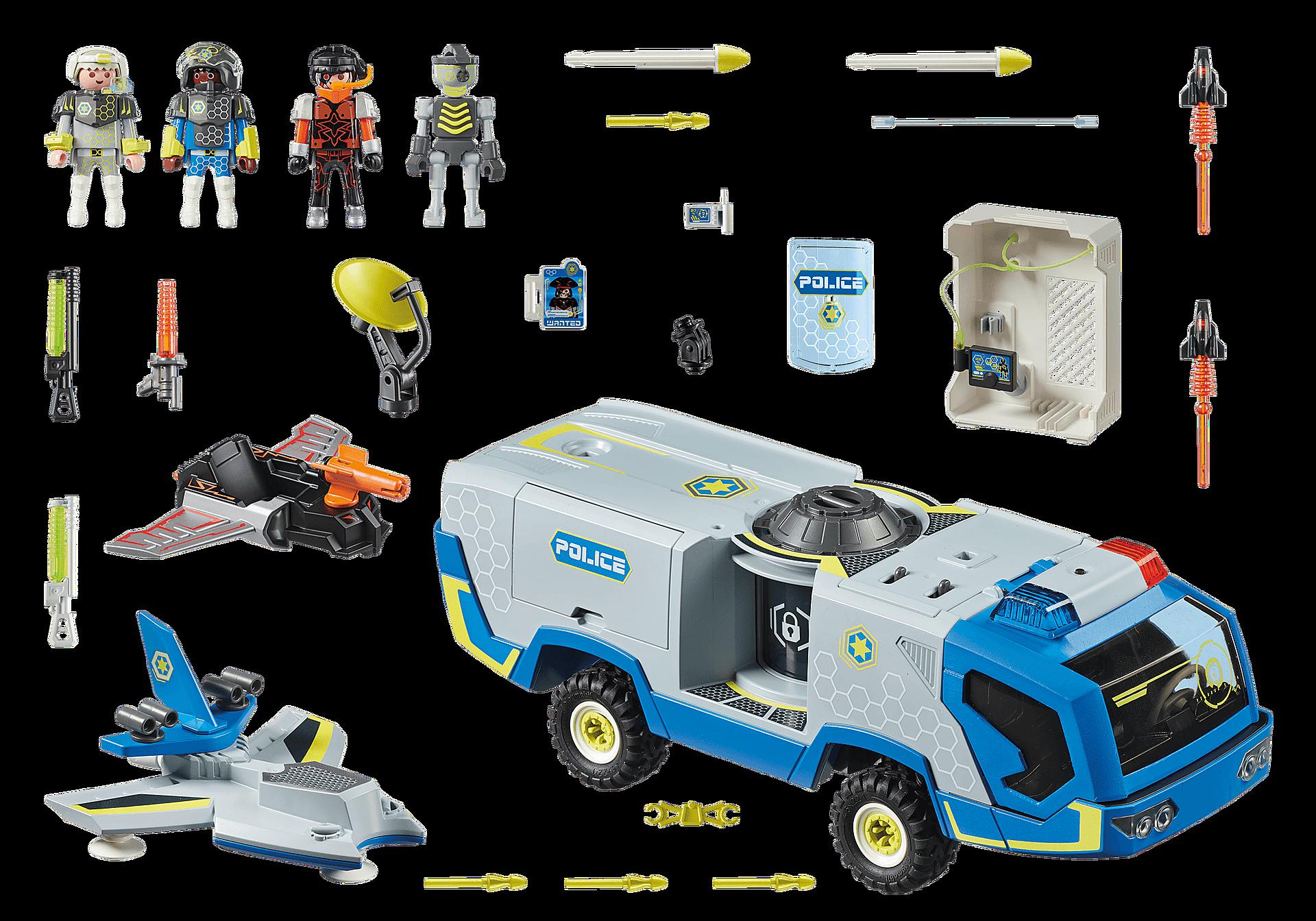 70018 Policía Galáctica Camión zoom image3