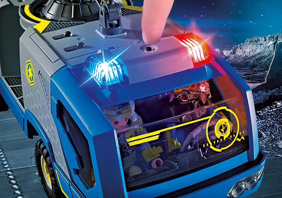 70018 Galaxy Police-Truck detail image 6