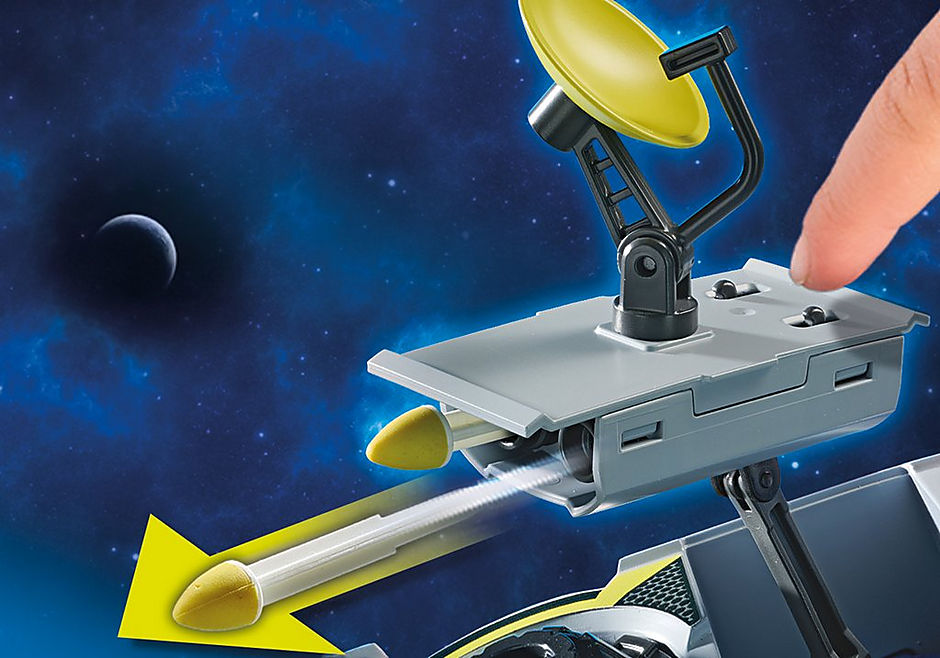 70018 Űrrendőrség - Teherautó detail image 7