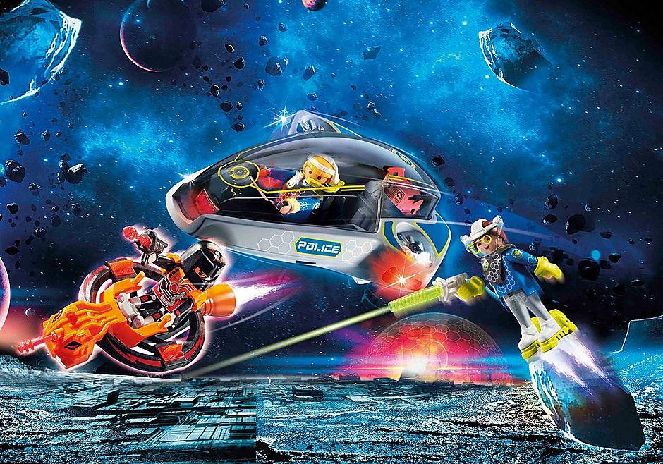 70019 Galaxy Police Glider detail image 1