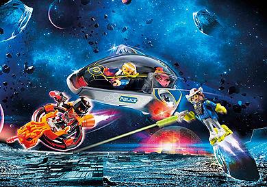 70019 Véhicule volant des policiers de l'espace