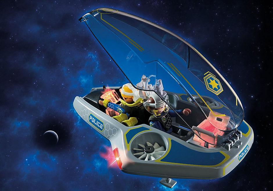 70019 Véhicule volant des policiers de l'espace  detail image 4