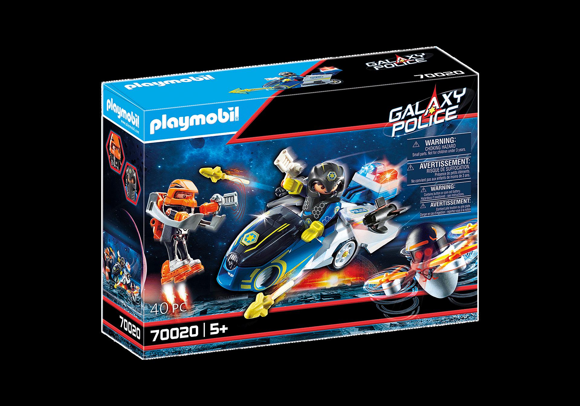 70020 Galaxy polismotorcykel zoom image2