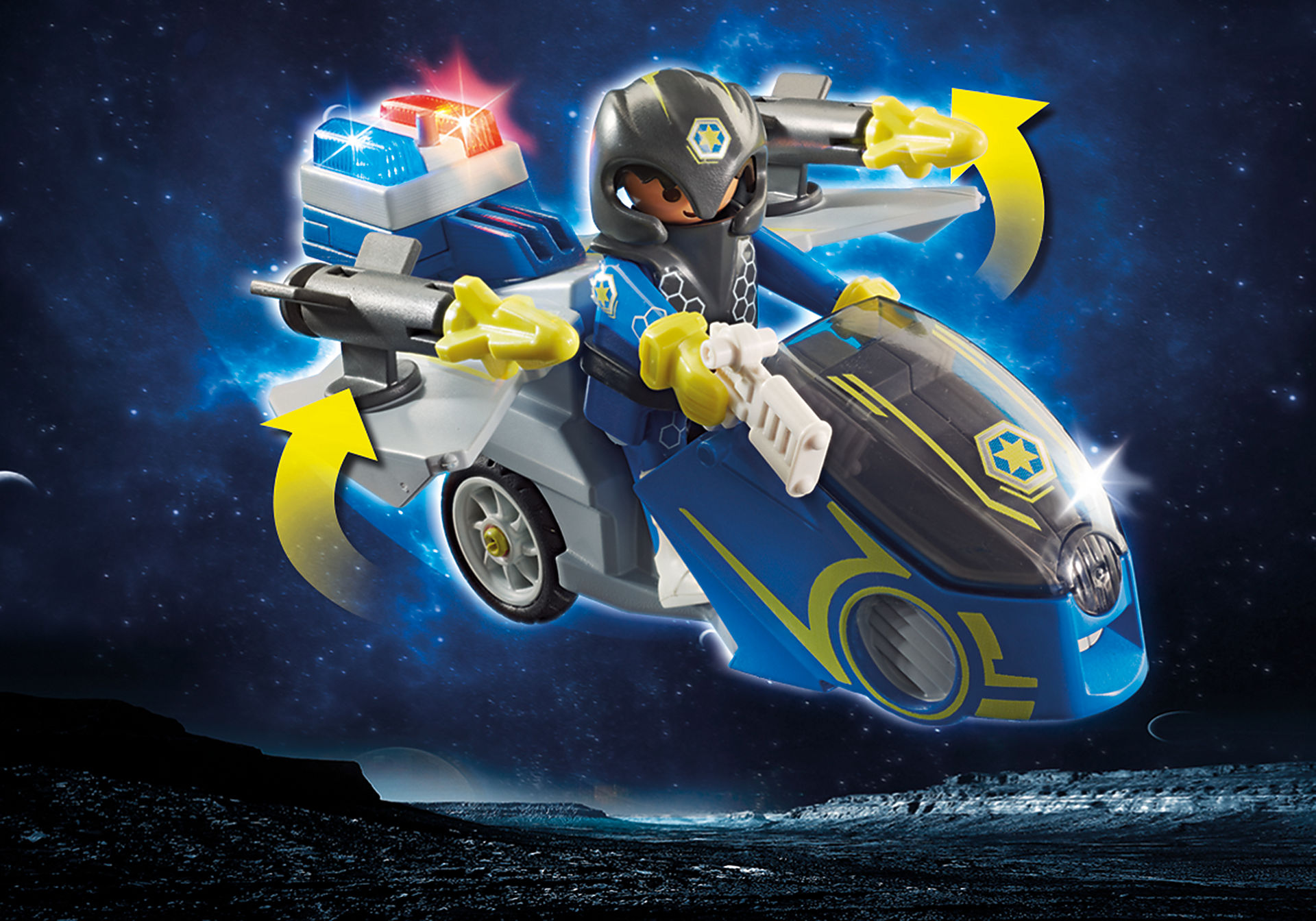 70020 Galaxy Police-Bike zoom image4