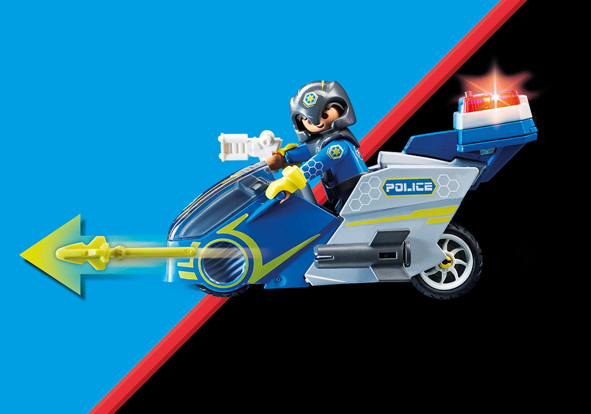 70020 Moto et policier de l'espace  zoom image5