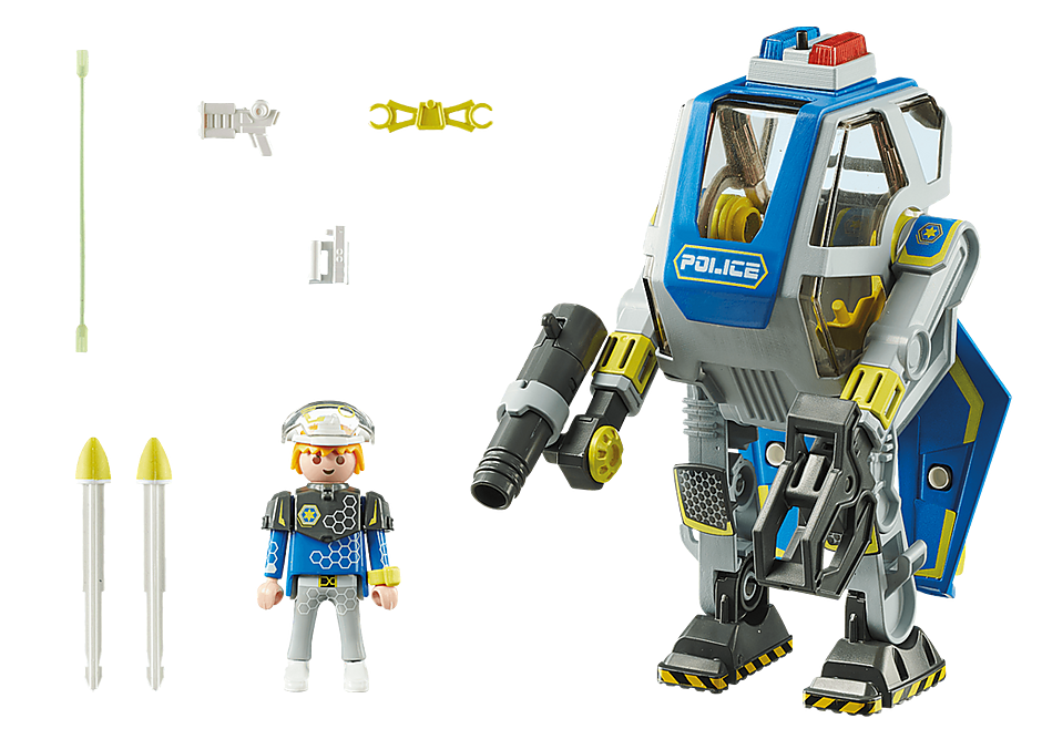 70021 Politirobot detail image 3