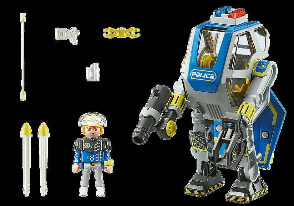 70021 Robot et policier de l'espace  detail image 3
