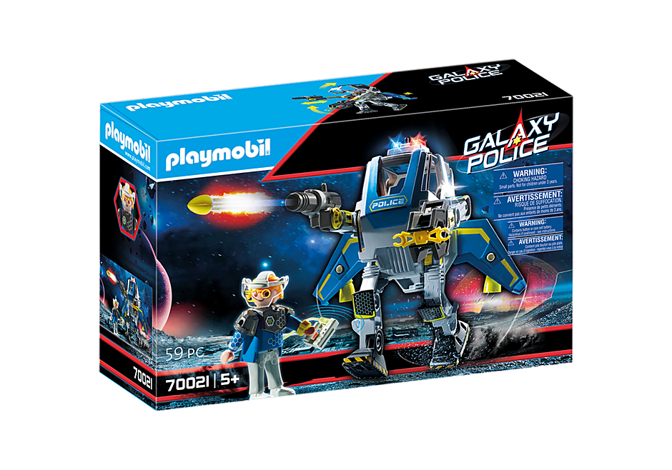 70021 Robot et policier de l'espace  detail image 2