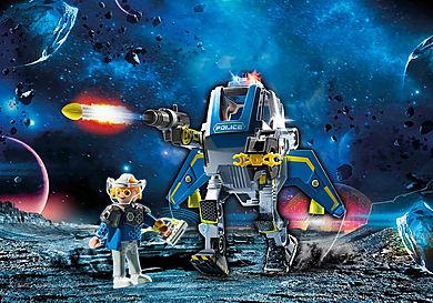 70021 Robot et policier de l'espace