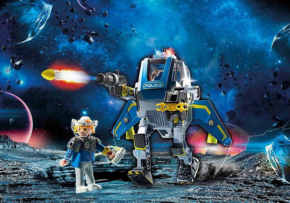 70021 Robot et policier de l'espace  detail image 1