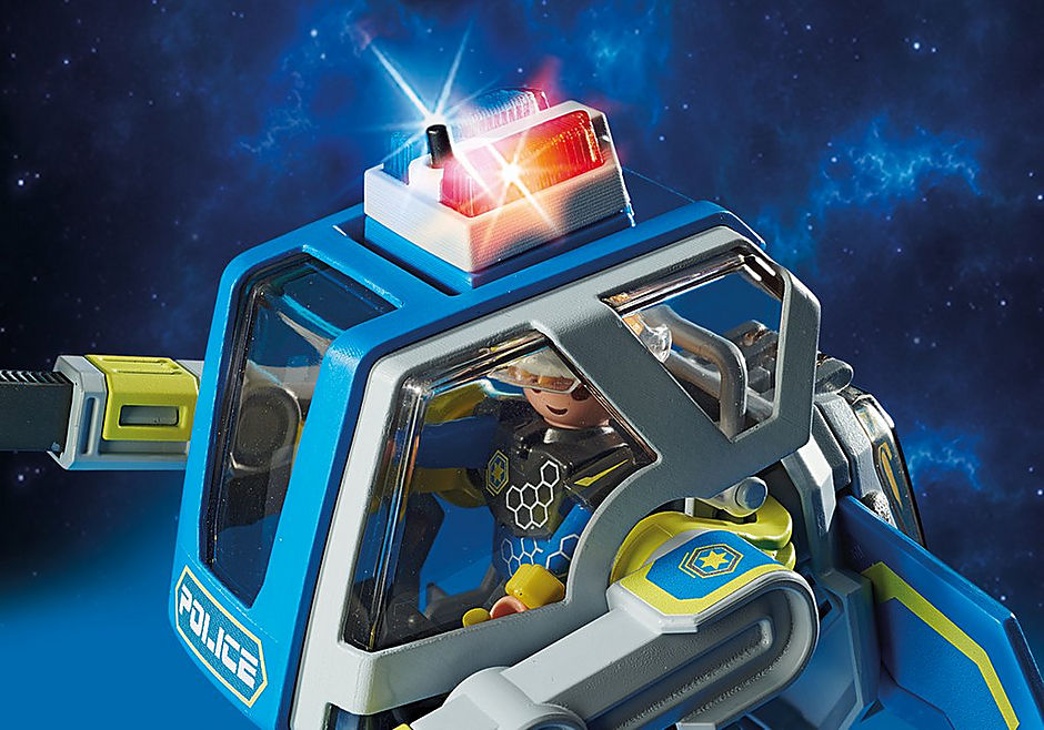 70021 Galaxy Police Robot detail image 4
