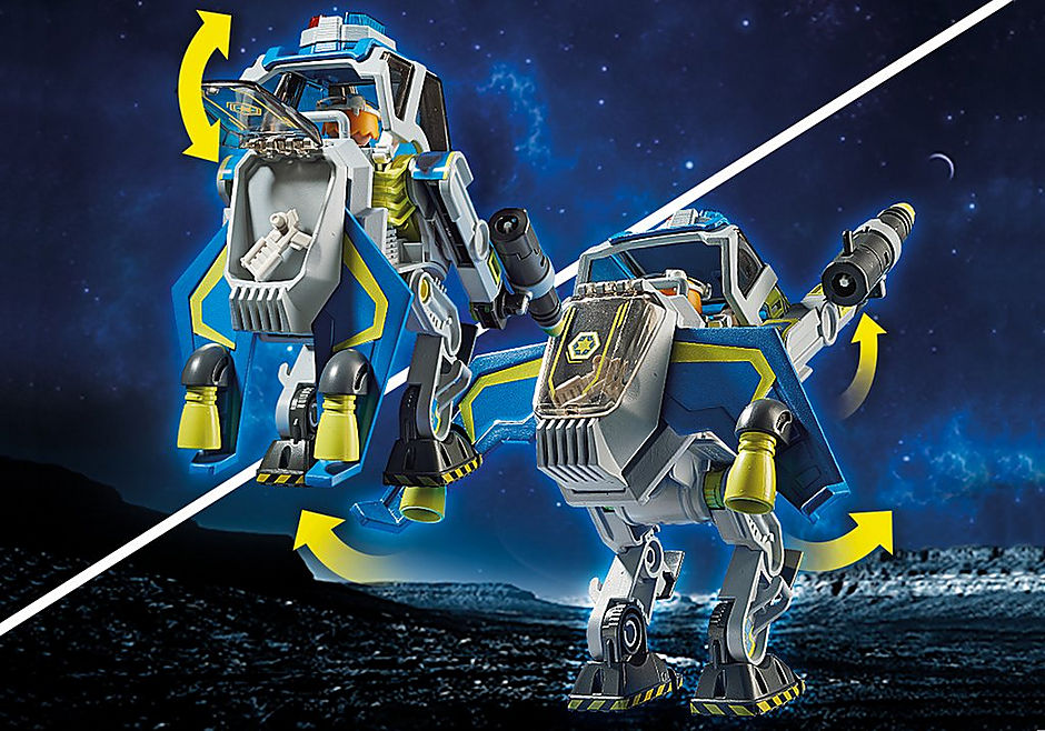70021 Galaxy politietrobot detail image 5