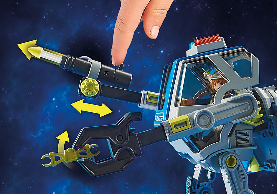 70021 Galaxy Police Robot detail image 6