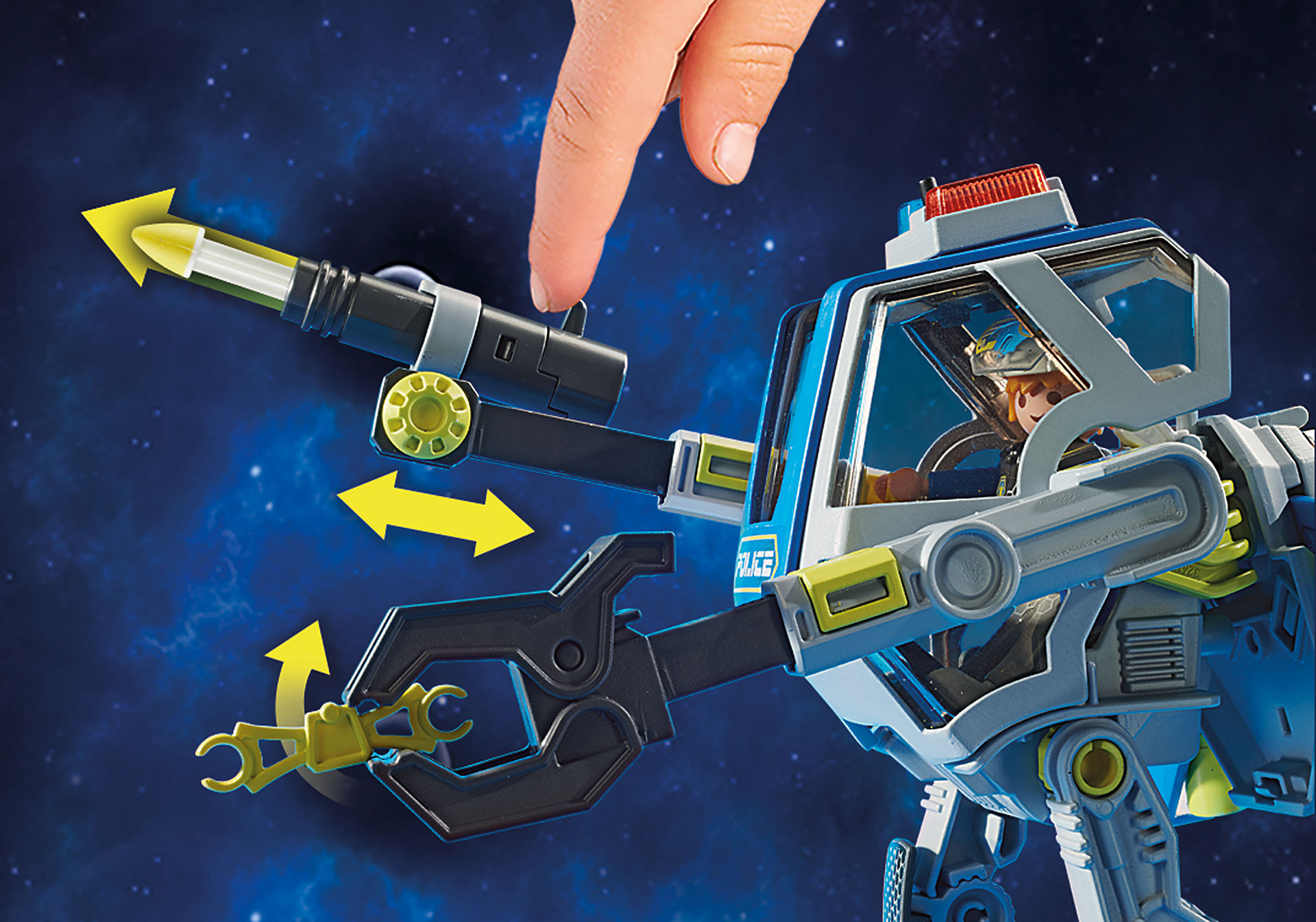 70021 Galaxy polisrobot zoom image6