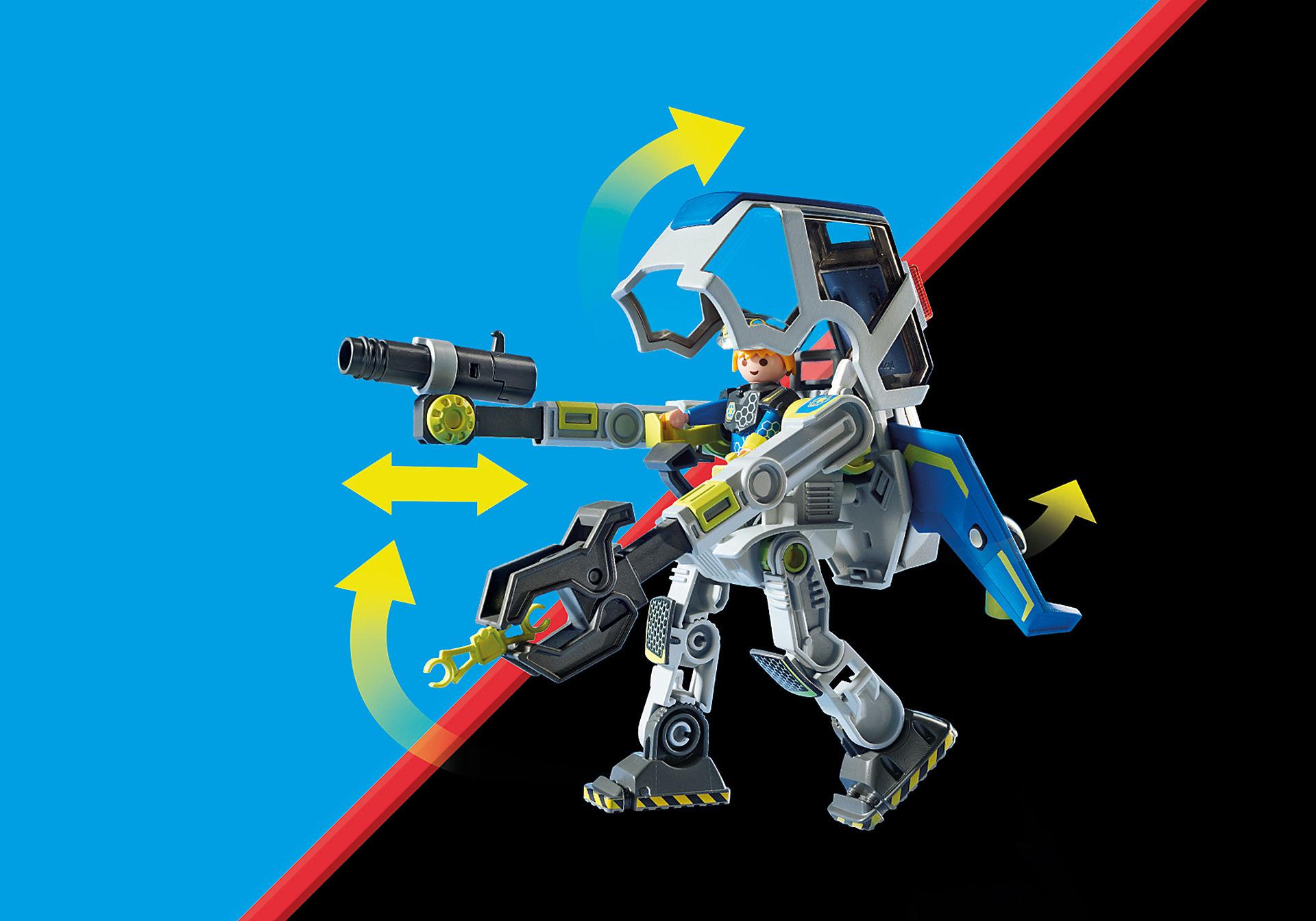 70021 Robot et policier de l'espace  zoom image7