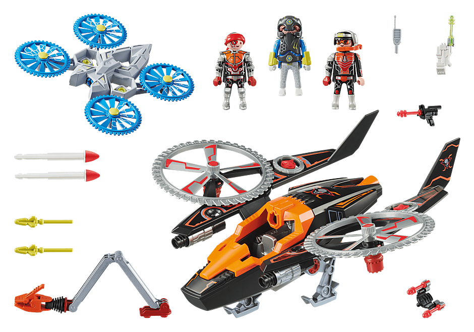 70023 Piratas Galácticos com Helicóptero detail image 3