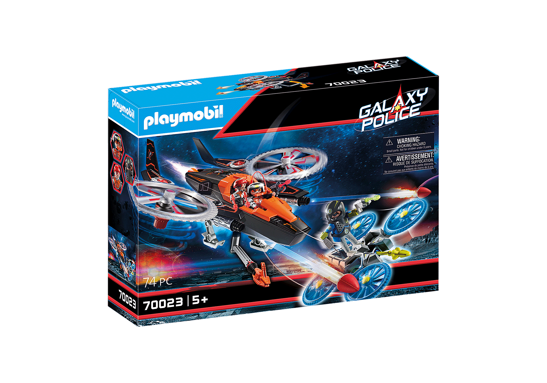 70023 Galaxy Pirates Helicopter zoom image2