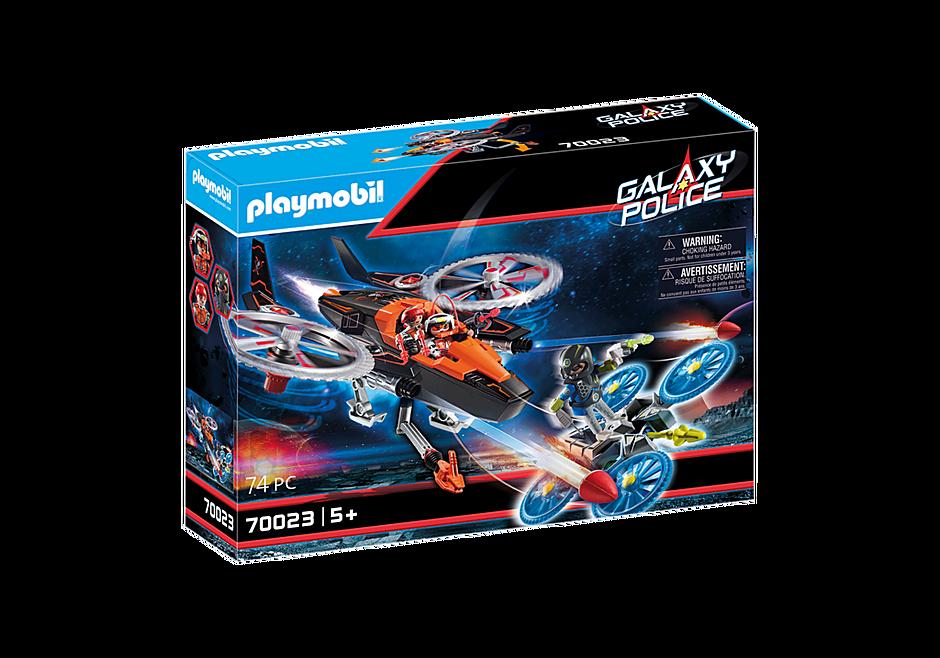 70023 Hélicoptère et pirates de l'espace  detail image 2