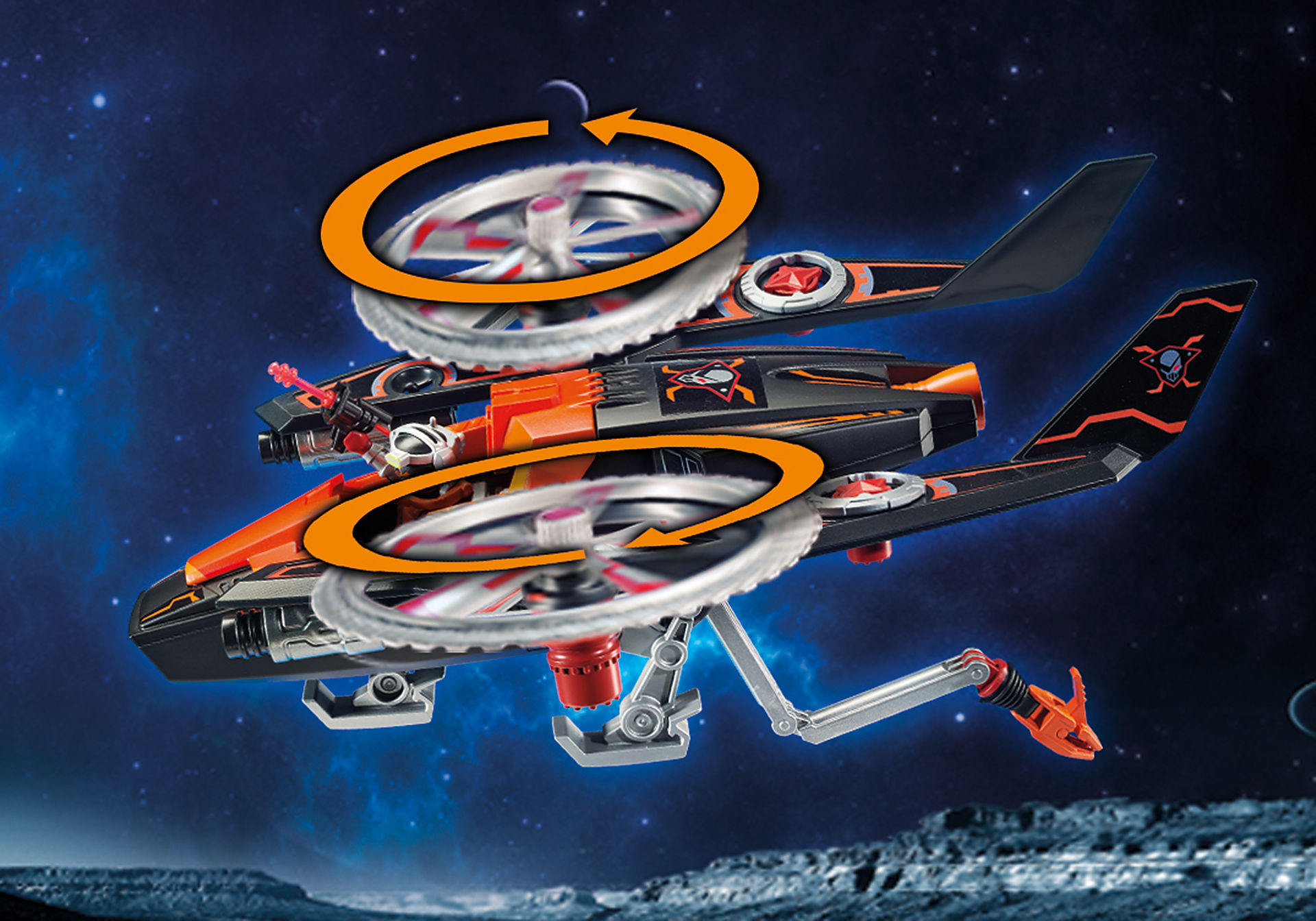 70023 Galaxy piratenhelikopter zoom image4