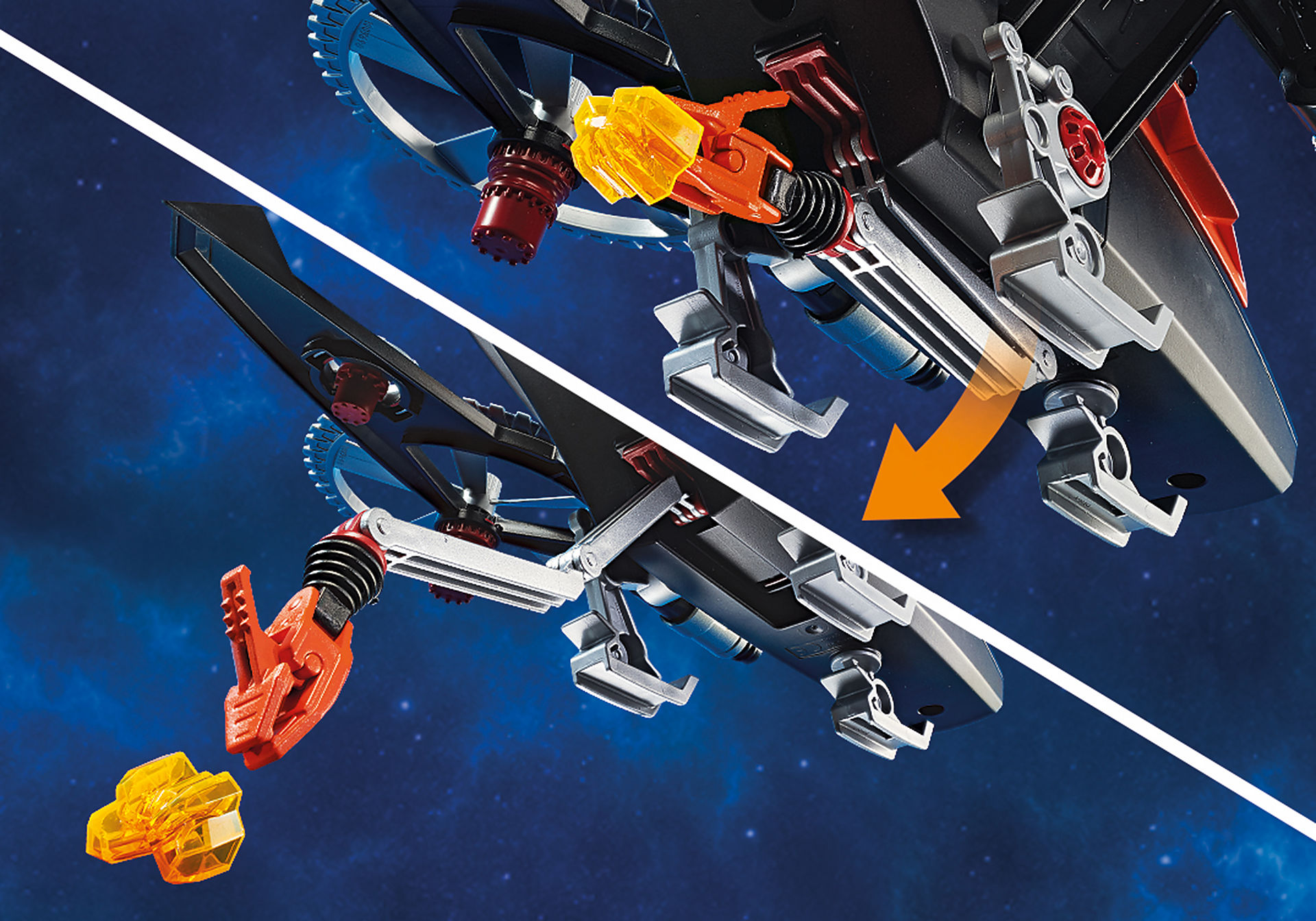 70023 Piratas Galácticos com Helicóptero zoom image5
