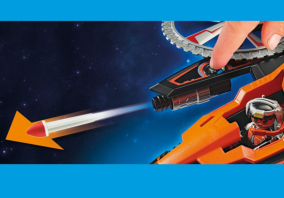 70023 Hélicoptère et pirates de l'espace  detail image 7