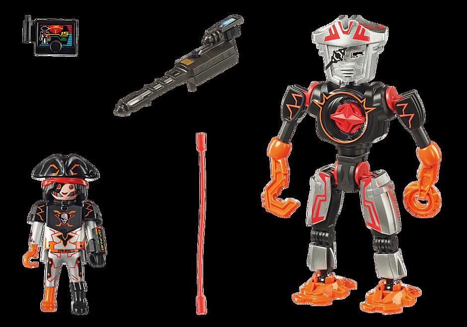70024 Robot et pirate de l'espace  detail image 3