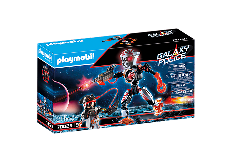 70024 Galaxy piratenrobot detail image 2