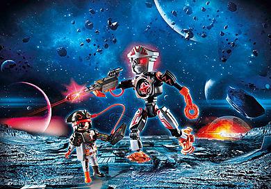 70024 Galaxy Pirate και ρομπότ
