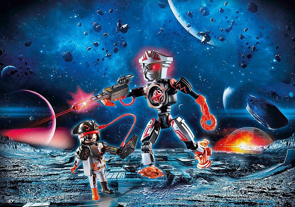 70024 Robot et pirate de l'espace  detail image 1
