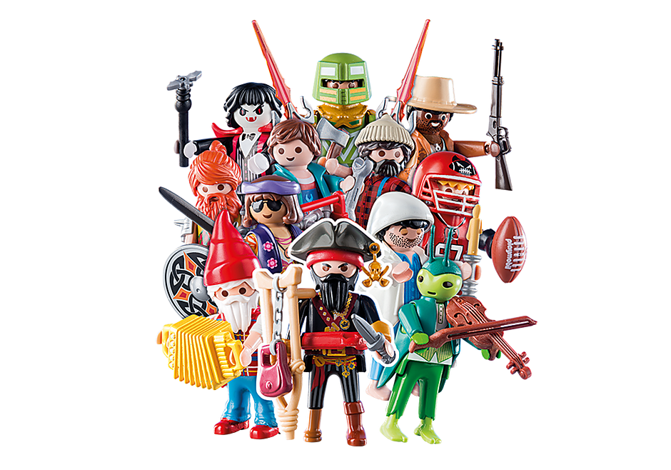 70025 PLAYMOBIL Figures Series 15 - Boys detail image 1