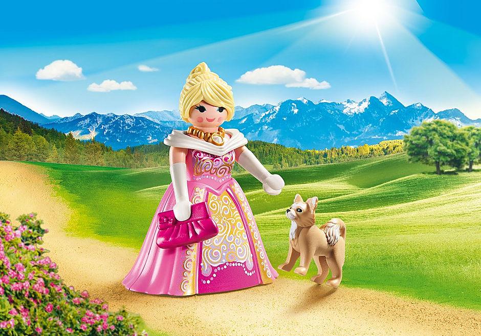 70029 Prinses met hond detail image 1
