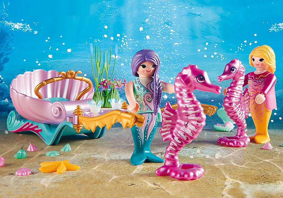 http://media.playmobil.com/i/playmobil/70033_product_extra1/StarterPack Koets met zeepaardjes