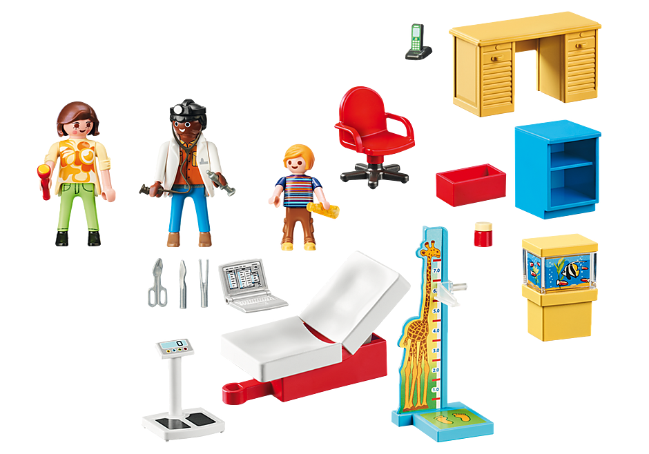 70034 StarterPack  Pediatrician's Office detail image 3