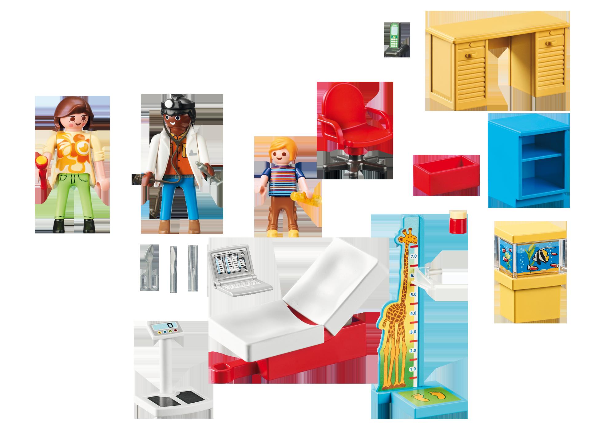 http://media.playmobil.com/i/playmobil/70034_product_box_back/StarterPack Bij de kinderarts