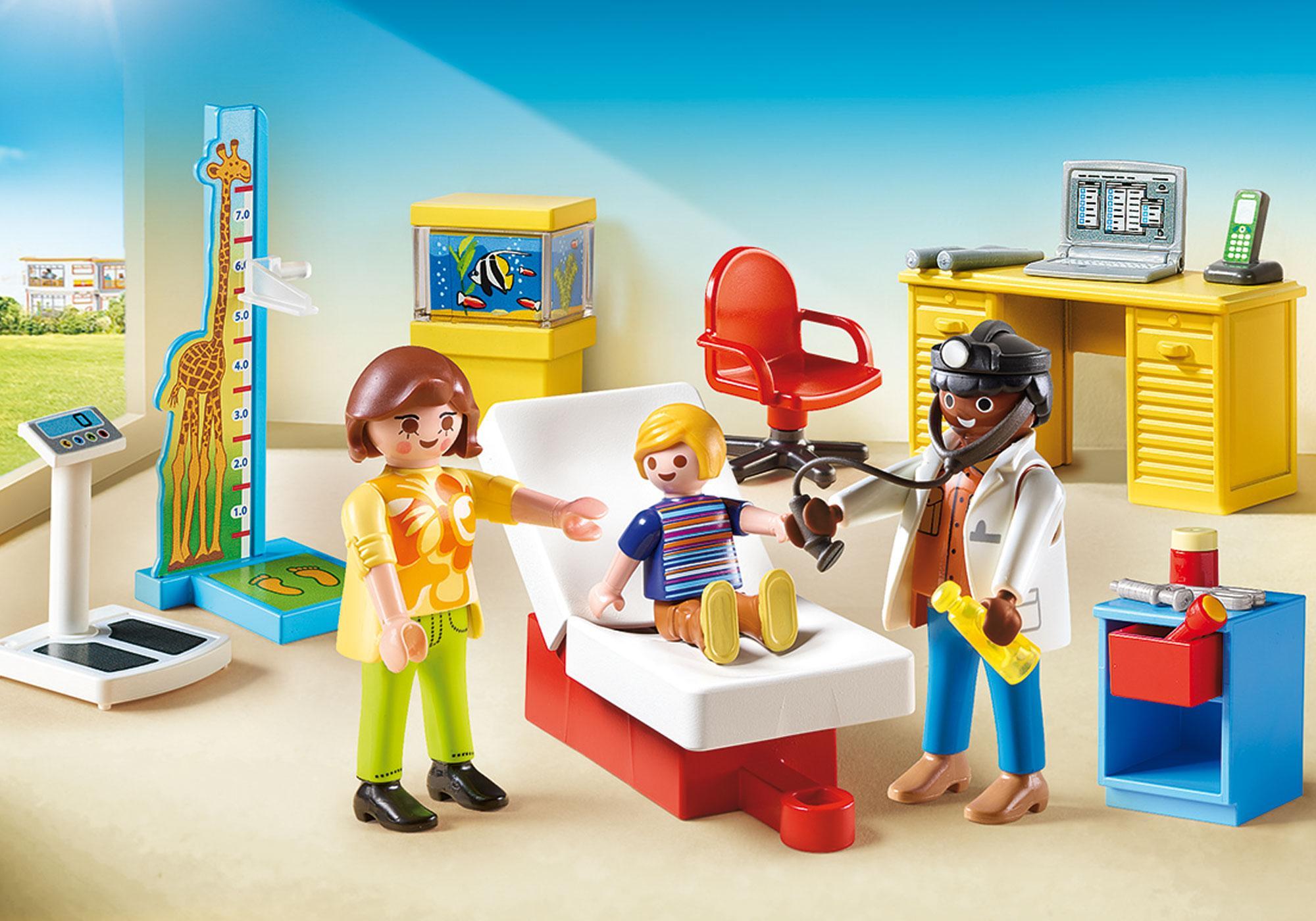 http://media.playmobil.com/i/playmobil/70034_product_detail/StarterPack Bij de kinderarts