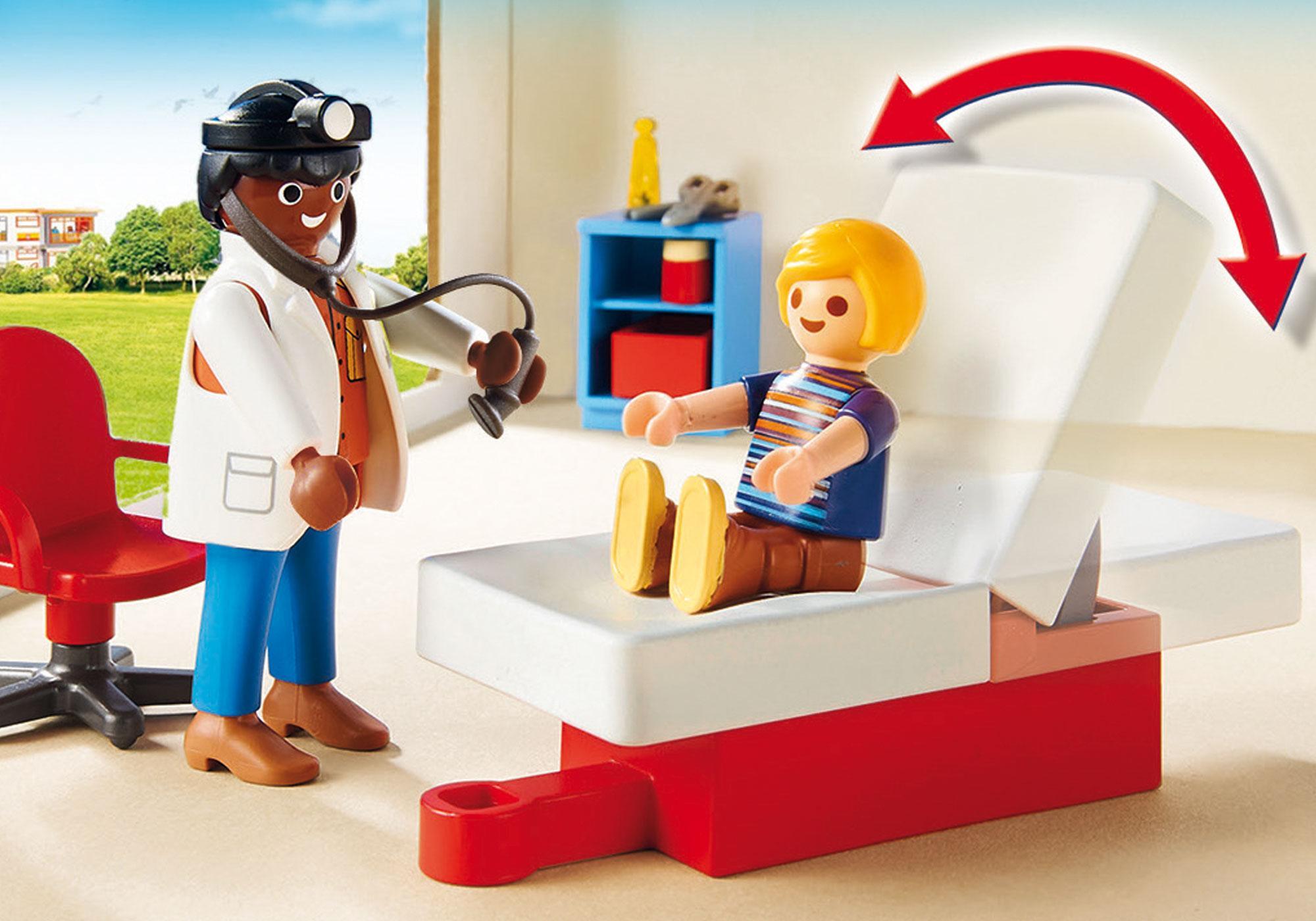 http://media.playmobil.com/i/playmobil/70034_product_extra1/StarterPack Bij de kinderarts