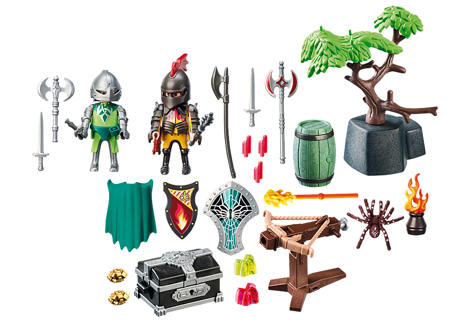 70036 StarterPack Knight's Treasure Battle detail image 3