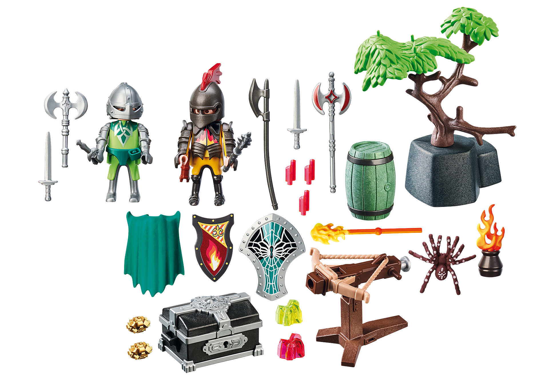 70036 StarterPack Knight's Treasure Battle zoom image3