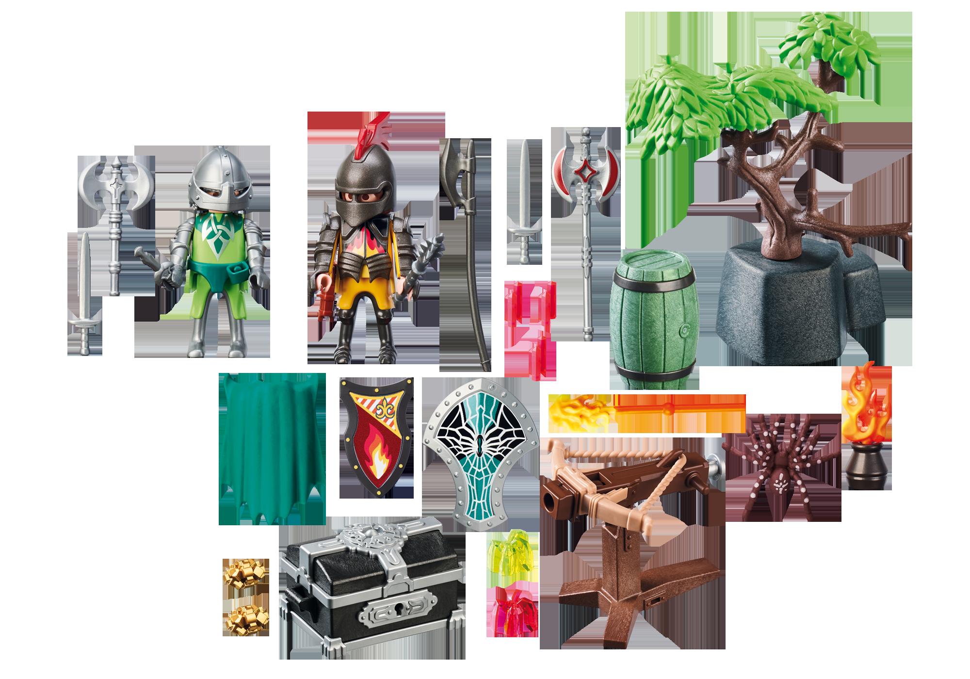http://media.playmobil.com/i/playmobil/70036_product_box_back/StarterPack Knight's Treasure Battle