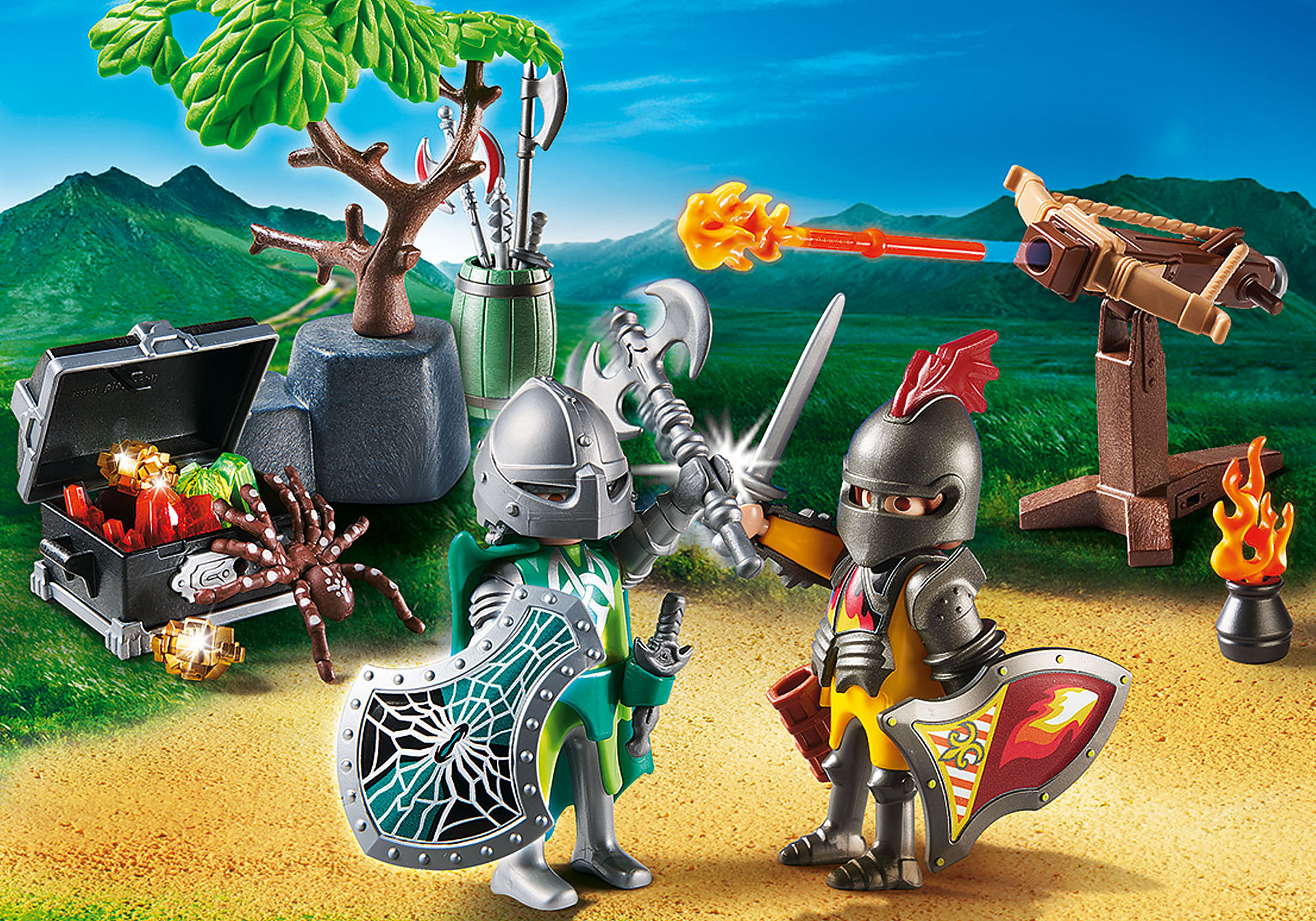 70036 StarterPack Knight's Treasure Battle zoom image1