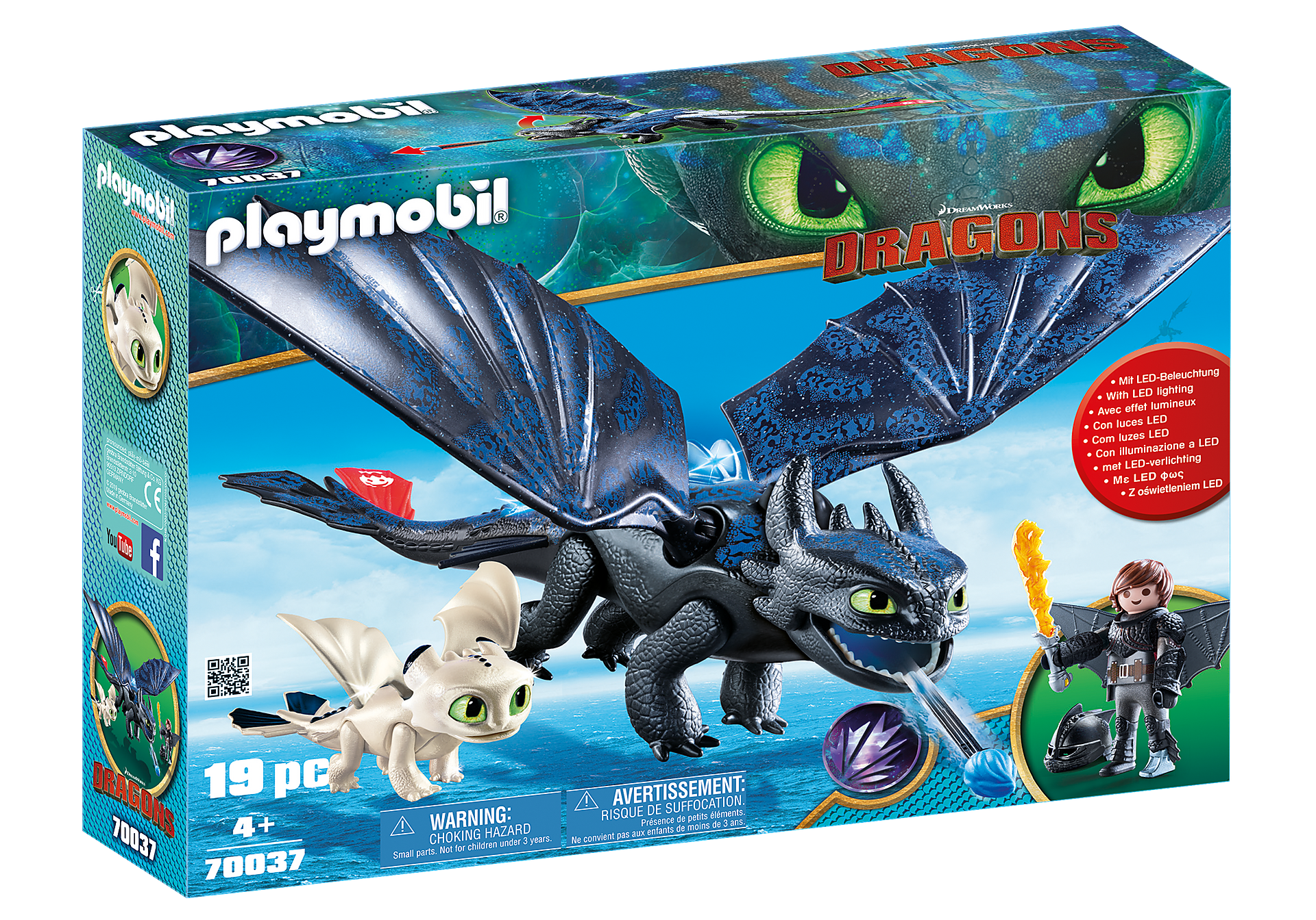 70037 Hiccup and Toothless Playset zoom image2