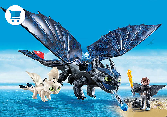 70037_product_detail/Hiccup e Sdentato con Baby Dragon