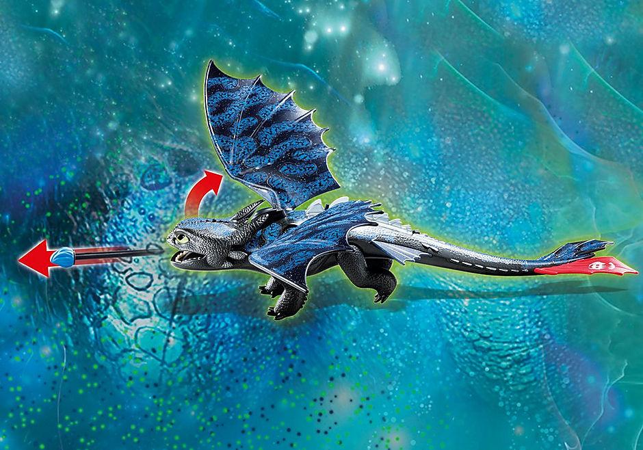 70037 Hiccup e Sdentato con Baby Dragon detail image 4